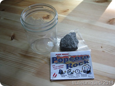 popcorn rock, science and rocks, science experiment at home, simple science, rocks and science