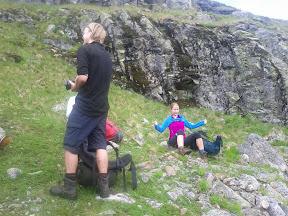 Fjeldtur i Norge, juli 2011