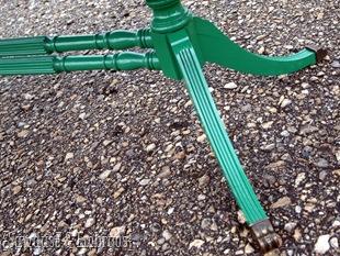 Krylon Emerald Green {Sawdust and Embryos}