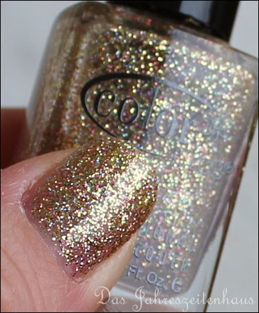 Gold Color Club Unter The Mistle Toe Collection Gingerbread 6