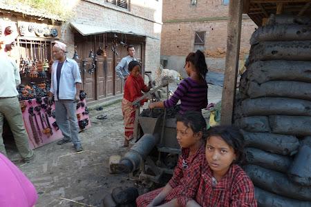 Piata Olarilor Bhaktapur