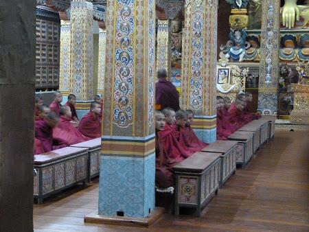 Calugari budisti rugaciune