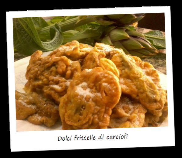 Immagine della ricetta delle dolci frittelle di carciofi