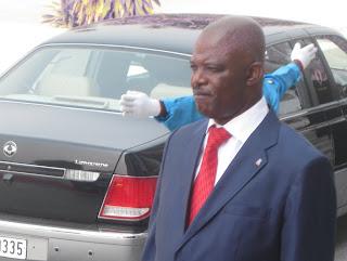 Evariste Boshab, président de l'Assemblée nationale, à Kinshasa.