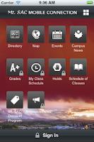 Screenshot of MountieApp