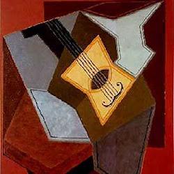 Juan Gris (1926-1927): Guitarra y frutero