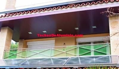 Techos aluminio Blanes