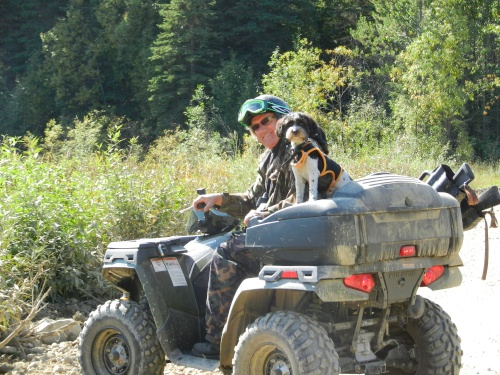 William Hay, Writer: Polaris Sportsman 500 and hunting in Northern BC