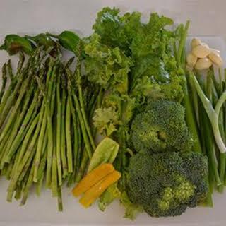 Garlic Asparagus Soup.