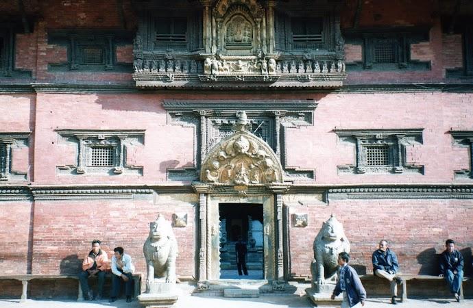 Obiective turistice Nepal: muzeu Patan.jpg