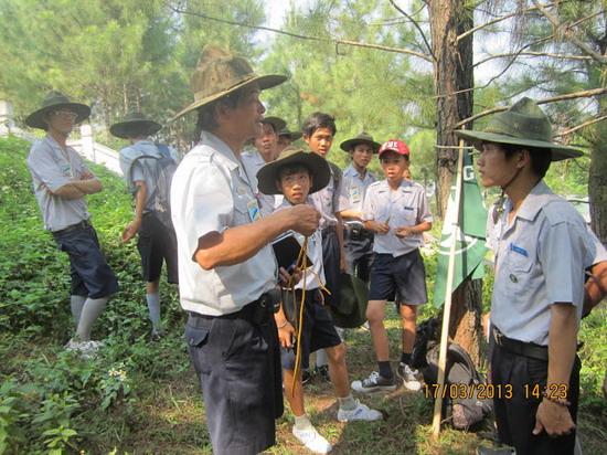 TraiDungThuaThioem2013 25 BHD GĐPT Thừa Thiên tổ chức Trại Dũng năm 2013