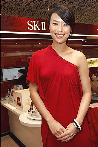 SK-II CHARITY AUCTION REBECCA LIM  METRO PARAGON  FTE