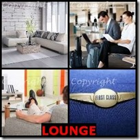 LOUNGE- 4 Pics 1 Word Answers 3 Letters