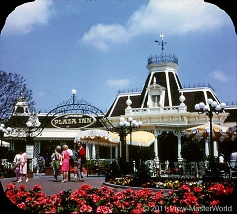 View-Master Main Street and Primeval World (A175), Scene 2-2: Plaza Inn Restaurant