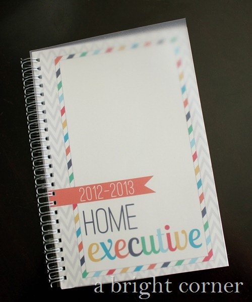 home executive planner 1