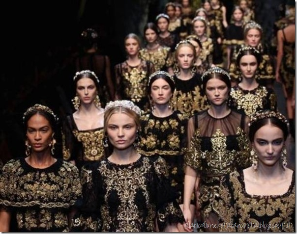 D&G fall winter 2013