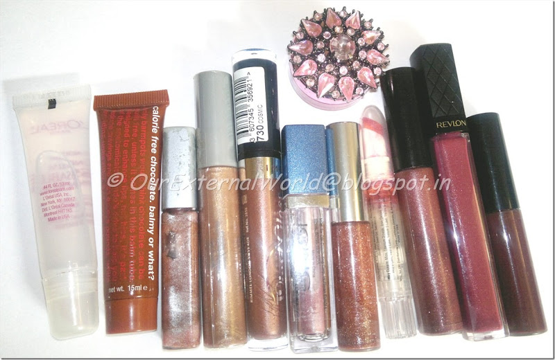 glosses galore!