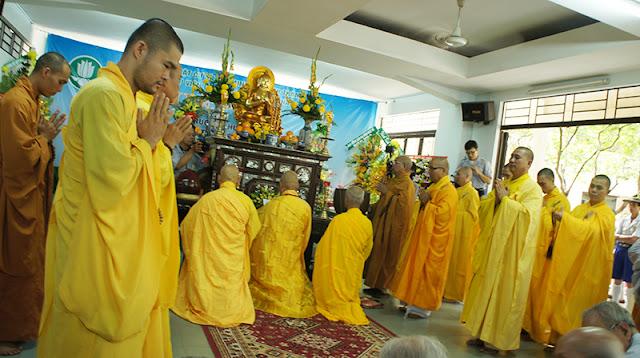 DSC06392 Lễ Hiệp kỵ   Lễ Huý Nhật Cư sĩ Sáng lập viên GĐPT Việt Nam   Tâm Minh Lê Đình Thám