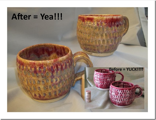 coffee cup re-glaze