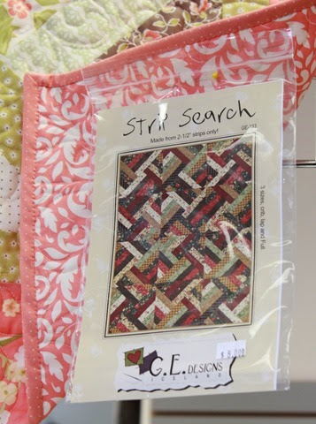 Strip Search quilt pattern