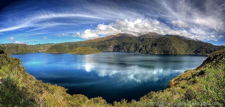 cuicocha lake otavalo panoramic scaled for web
