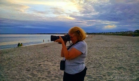 21. Cindy at Pine Point beach 8-21-14