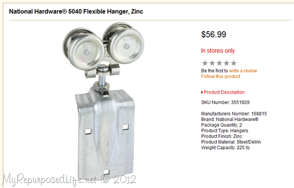 Tractor Supply Flexible Hanger