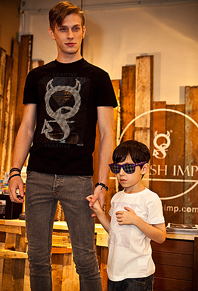 Flesh Imp Scape Mens Kids Fashion Show