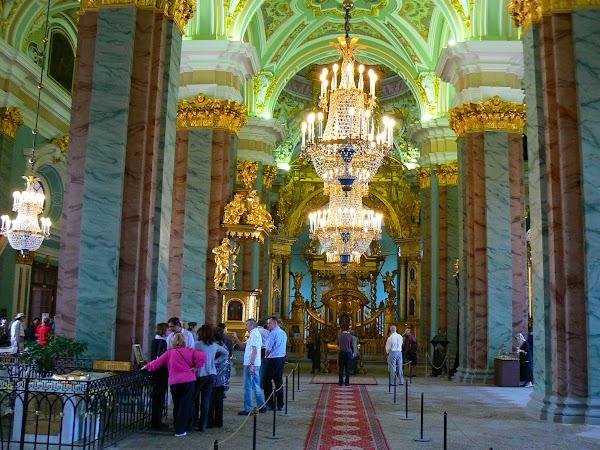 Obiective turistice Rusia: Sf. Petru si Pavel Sankt Petersburg.JPG