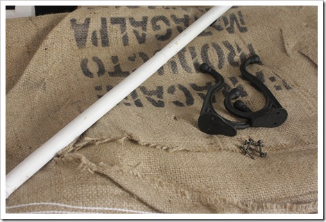 Coffee sack curtain supplies