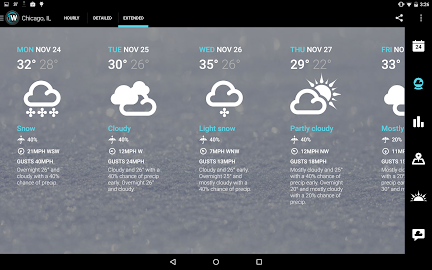 1Weather:Widget Forecast Radar Screenshot 2
