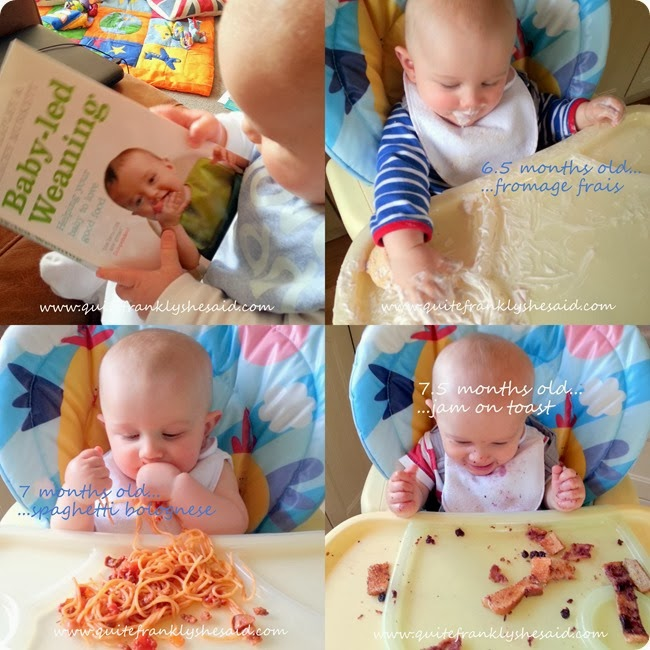 baby led weaning 1