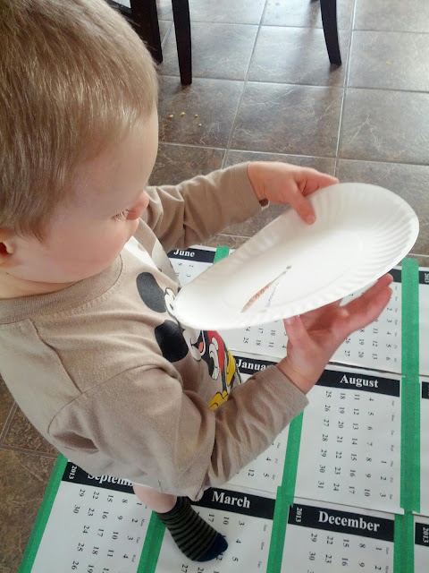 Teaching the months of the year to kids with a simple activity