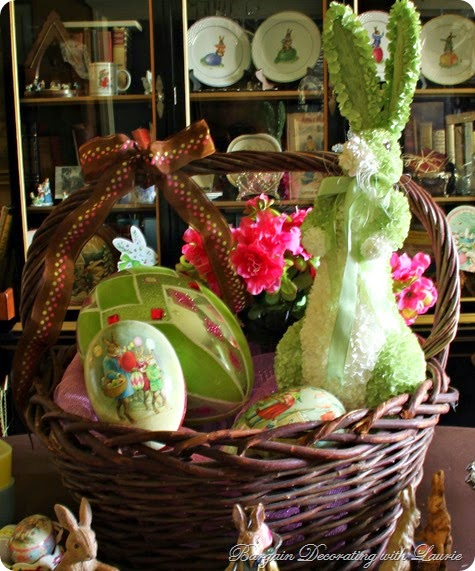 Easter Tablescapes-Bargain Decorating with Laurie
