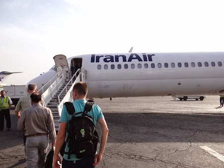 45. Iran Air - MD 82 aircraft.JPG