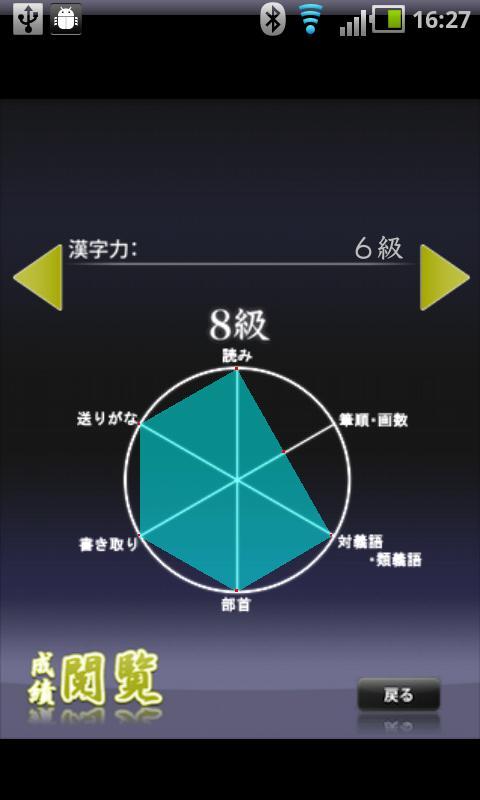 漢字能力検定 あなたは何級?- screenshot