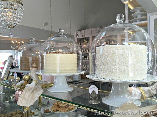 large cake domes