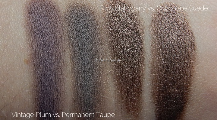 Maybelline Color Tattoo Leather Collection Swatches complete Comparison