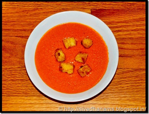 Cream of Tomato Soup - IMG_8812