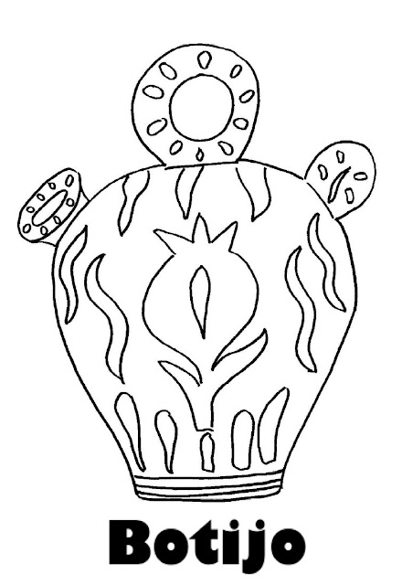 coloring pages pitcher of water - photo#30