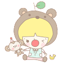 청춘스티커 카카오톡 테마 icon