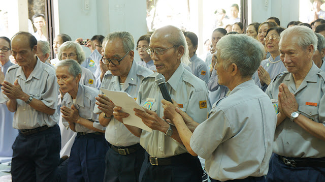 DSC06372 Lễ Hiệp kỵ   Lễ Huý Nhật Cư sĩ Sáng lập viên GĐPT Việt Nam   Tâm Minh Lê Đình Thám