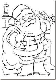 Teaching the Little Ones English : CHRISTMAS COLOURING PAGES