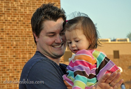 Addison and Daddy