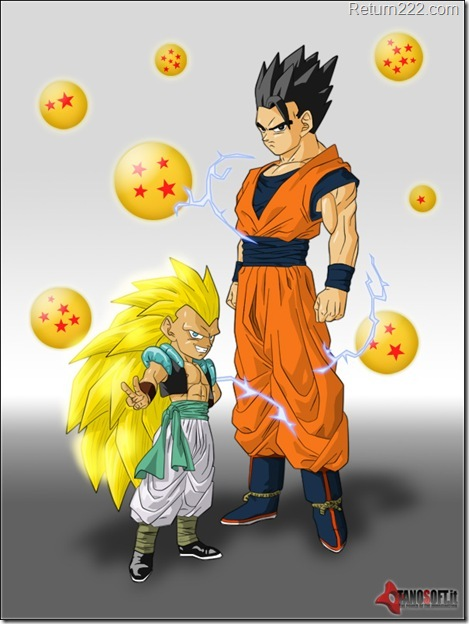 Gohan_and_Gotenks_by_Kidel