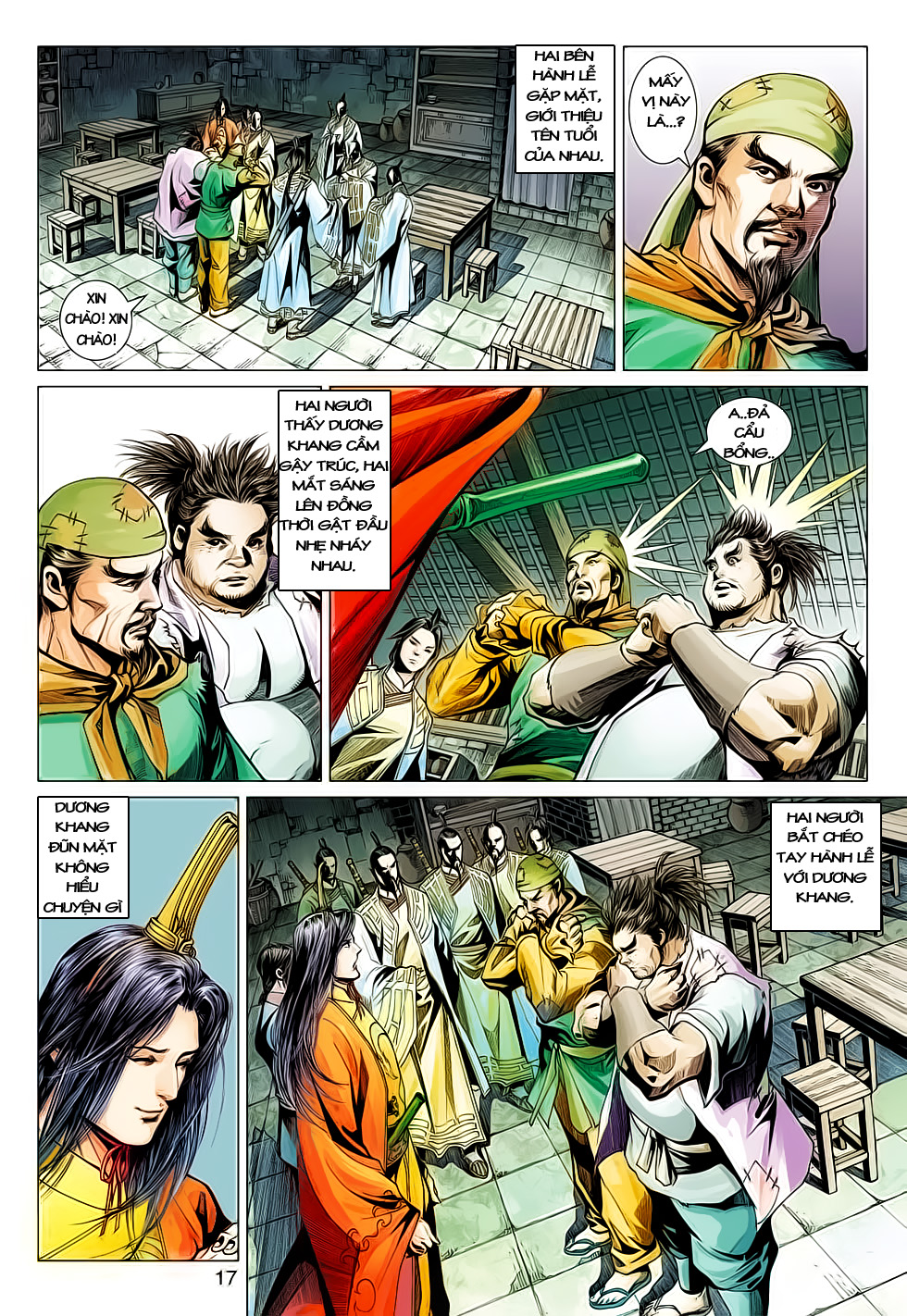 Anh Hùng Xạ Điêu anh hùng xạ đêu chap 61: thất tử chiến thiết thi trang 17