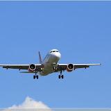 EasyJet Airbus A319 im Landeanflug