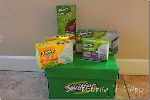 Swiffer green box giveaway
