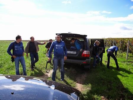 Gitana Winery: Debarcarea din jeep