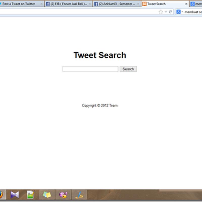 Search Engine Sederhana Menggunakan Lucene